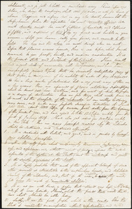 Letter from George Thompson, Boston, [Massachusetts], to Robert Purvis, 1834 Nov[ember] 10