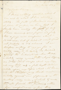 Letter from George Bourne, New York, [New York], to William Lloyd Garrison, 1833 March 20
