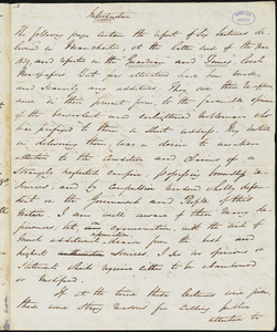 Letter from George Thompson, London, [England], 1842 May 21