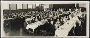 Photographs [realia], testimonial banquet