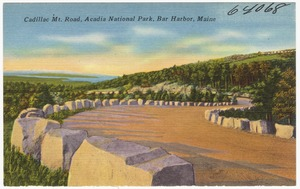 Cadillac Mt. Road, Acadia National Park, Bar Harbor, Maine
