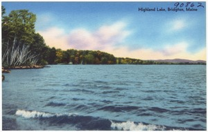 Highland Lake, Bridgton, Maine