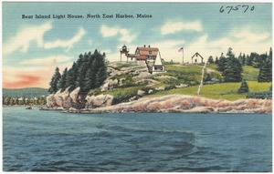Bear Island Light House, North East Harbor, Maine