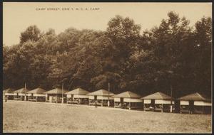 Camp Street, Erie Y.M.C.A. Camp