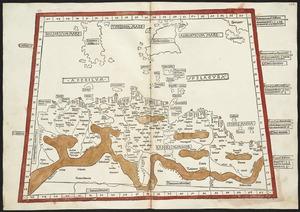 Secunda Affrice tabula continet Affricam & insulae que circa ipsam sunt