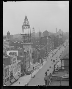 Rebuilding the tower of the New Old South Church