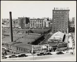 Boston Albany yards and Hotel Lenox