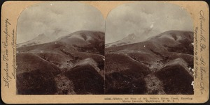 Within 800 feet of Mt. Pelée's riven crest, showing Morne Lacroix, Martinique, F. W. I