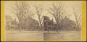 Old President's House, Harvard College, Cambridge, Mass