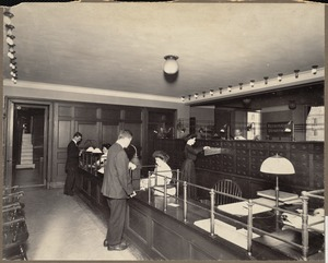 Boston Public Library, Copley Square. Registration department