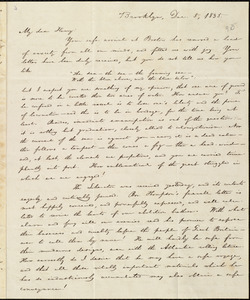Letter from William Lloyd Garrison, Brooklyn, [Conn.], to Henry Egbert Benson, Dec. 5, 1835