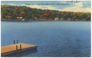 Byram Cove near West Shore Blvd., Lake Hopatcong, N. J.