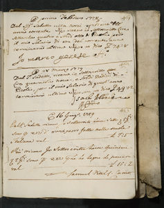 Book of records and accounts of the Jewish community in Venice