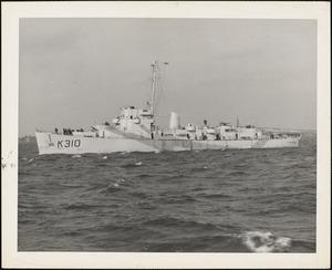 BDE-1(British K-210) HMS BAYNTUN-built by NYBos-completed 2/13/1943 - 289 diesel elec.