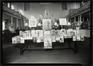 West End Branch Boston Public Library. Children's book week exhibit