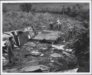 Hurricane Betsy - Puerto Rico - 8/12/1956