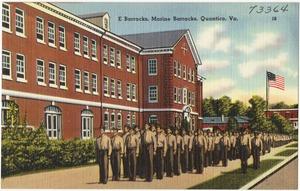 E Barracks, Marine Barracks, Quantico, Va.