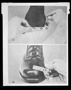 Copy, fitting footwear, CEMEL
