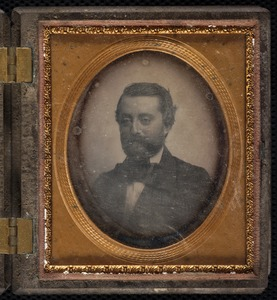 Daguerreotype (?) of William Mason
