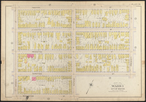 Atlas of the city of Boston, East Boston plate 20
