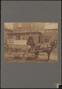 Times certainly have changed, when this picture was taken, the automobile was only a dream and the horse was the primary means of conveyance