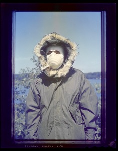 CEMEL - clothing, cold weather, headgear, with mask & parka hood