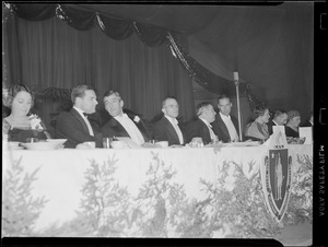 Gov. Saltonstall, event at Sate House, probably inaugural