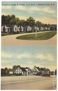 Evergreen Lodge & Cabins, U.S. Route 1, Hampton Falls, N.H.