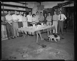 Frank J. Mello's party