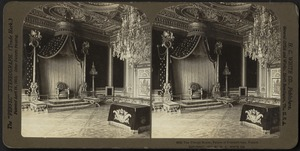 Throne room, Palace of Fontainbleau, France