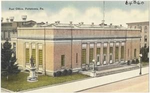 Post office, Pottstown, Pa