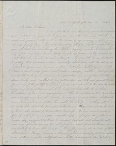 Letter from Abby Osgood, New Bedford, [Mass.], to Deborah Weston, 7th mo[nth] 18 [day], 1841