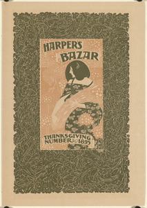 Harper's bazar, Thanksgiving number, 1895