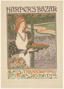 Harper's bazar Thanksgiving 1894