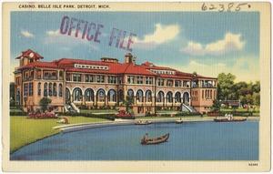 Casino, Belle Island Park, Detroit, Mich
