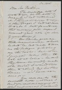 Elizabeth Palmer Peabody autograph letter to James Thomas Fields, 14 December [1868]