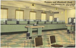 Farmers and Merchants Bank, Cape Girardeau, Mo