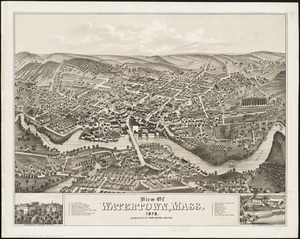 View of Watertown, Mass 1879