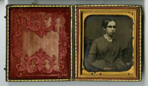 Daguerreotype of Laura Bridgman, circa 1845