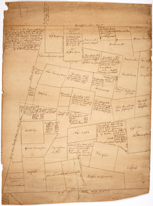 Province of the Massachusetts Bay & pursuant to an order made by the great & Genl. Court of the province June 11th 1762: to me the subscriber (viz) to layout nine townships and ten thousand acres and sold by their order June second 1762 and also to take a plan of all the unappropriated land in the counties of Hampshire & Berkshire