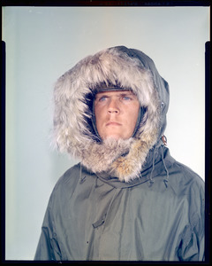 CEMEL, clothing, cold-weather, headgear, cold-dry (parka over helmet)